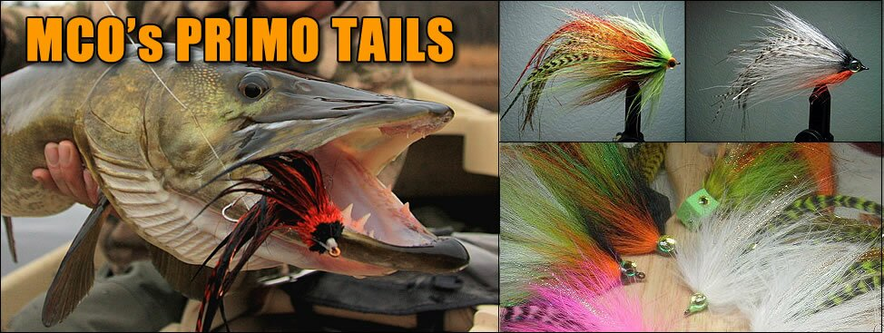 Primo Tail Musky Flies